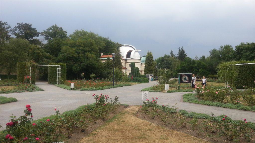 Прага. Петршин холм. Обсерватория имени Штефаника.