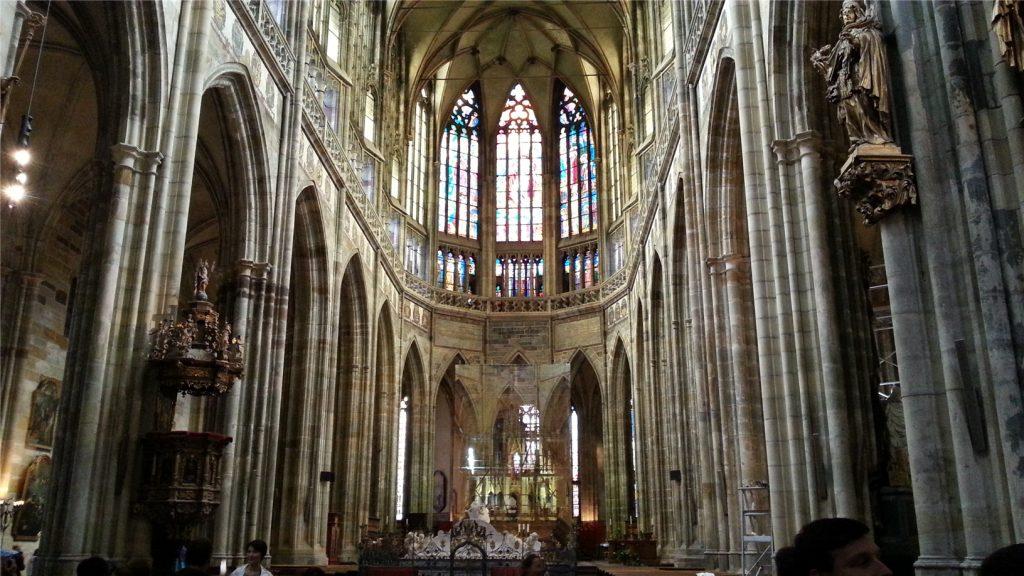 Собор святого Вита внутри