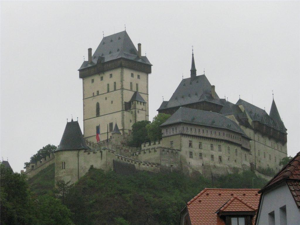Чехия. Замок Карлштейн.