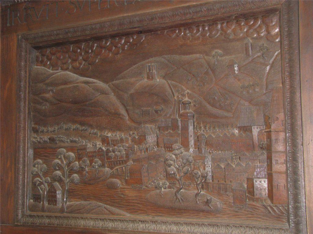 Гравюры в соборе святого Вита