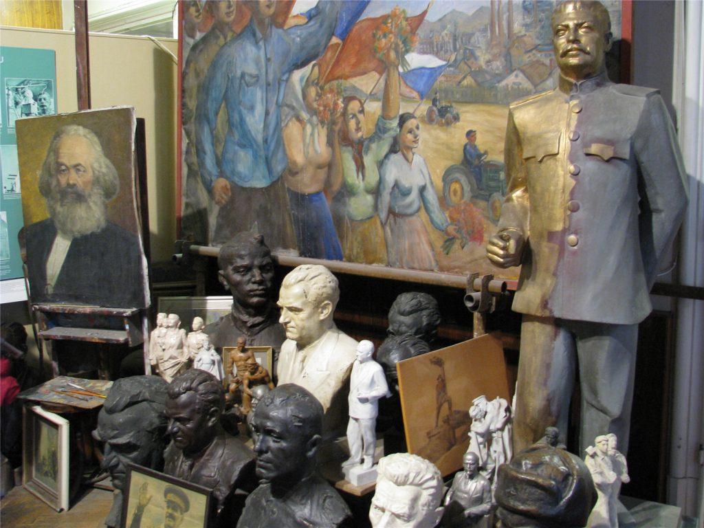 Прага. Музей коммунизма.