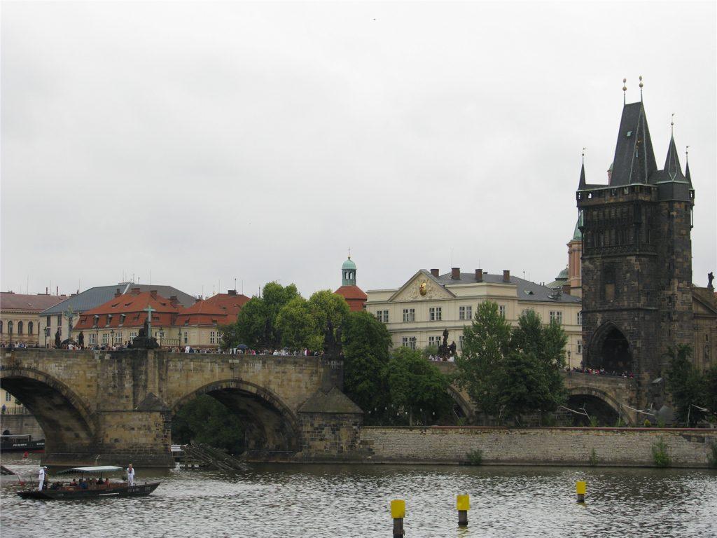 Прогулка по Влтаве. Карлов мост.