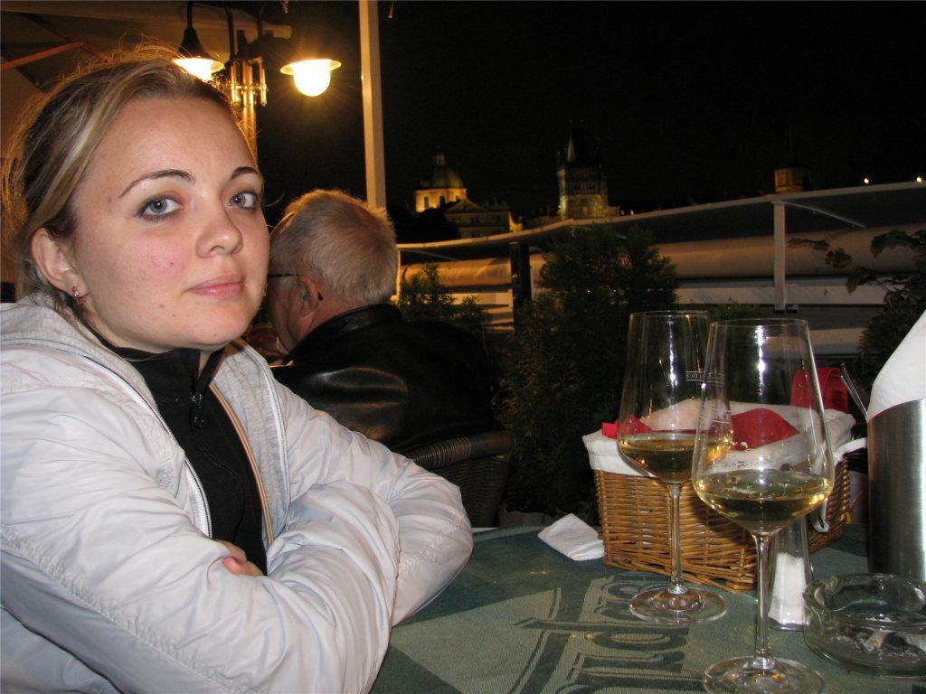 Ресторан Certovka. Прощальный ужин.