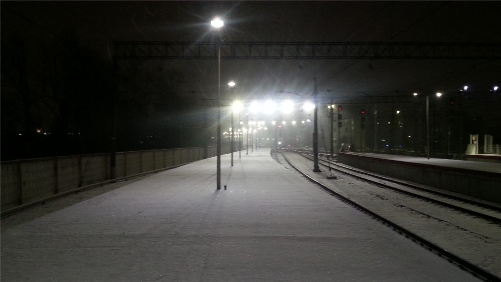 Уезжаем с Ленинградского вокзала