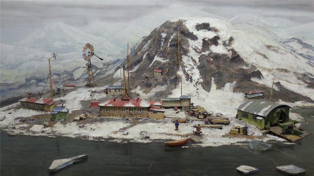 Музей Арктики и Антарктики. Зал Арктики.