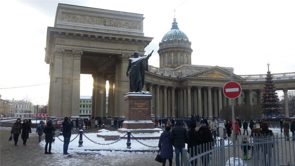 Казанский собор в Питере