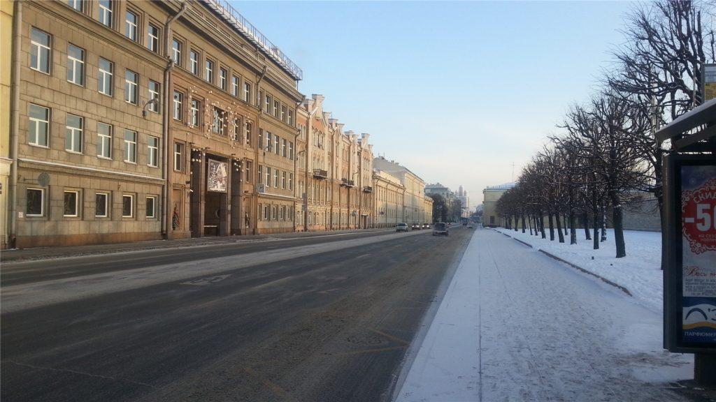 Шпалерная улица. Санкт-Петербург.