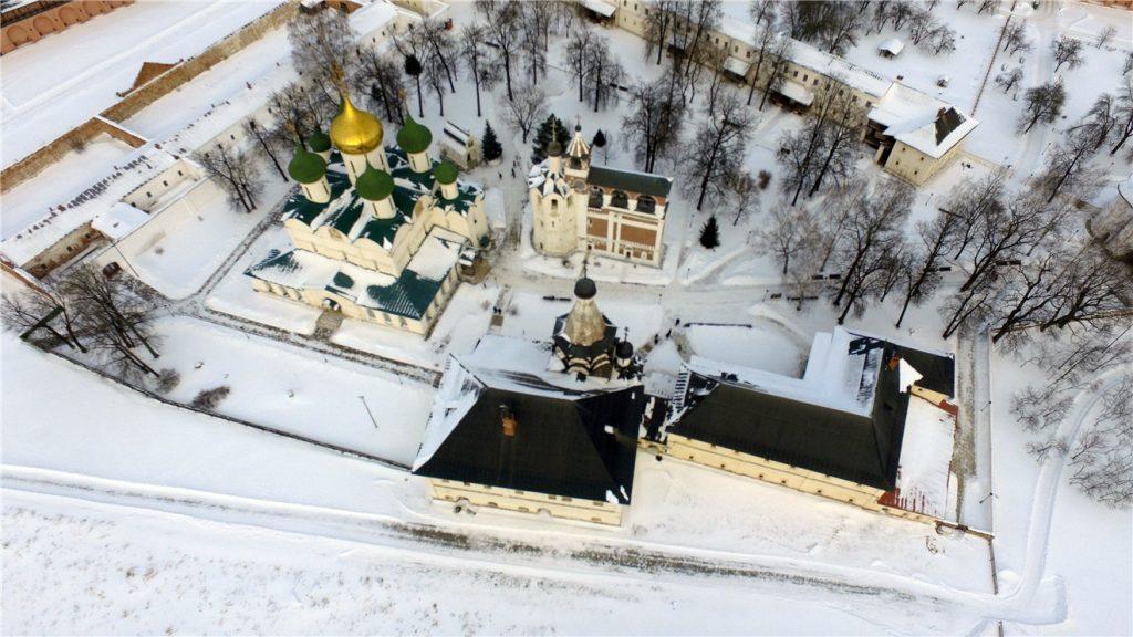 Суздаль на DJI Phantom 3. Спасо-Евфимиев монастырь.