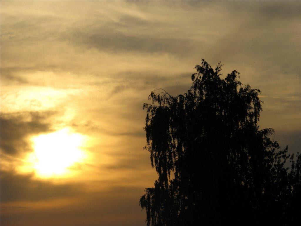 Июльский закат в Костроме