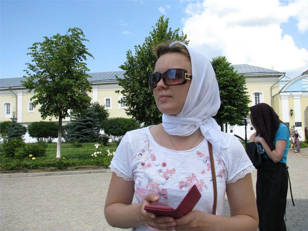 Аня в Ипатьевском монастыре