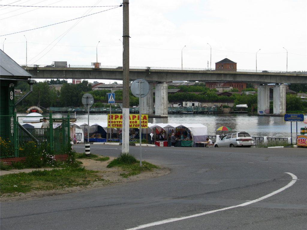Мост через реку Кострома у Ипатьевского монастыря