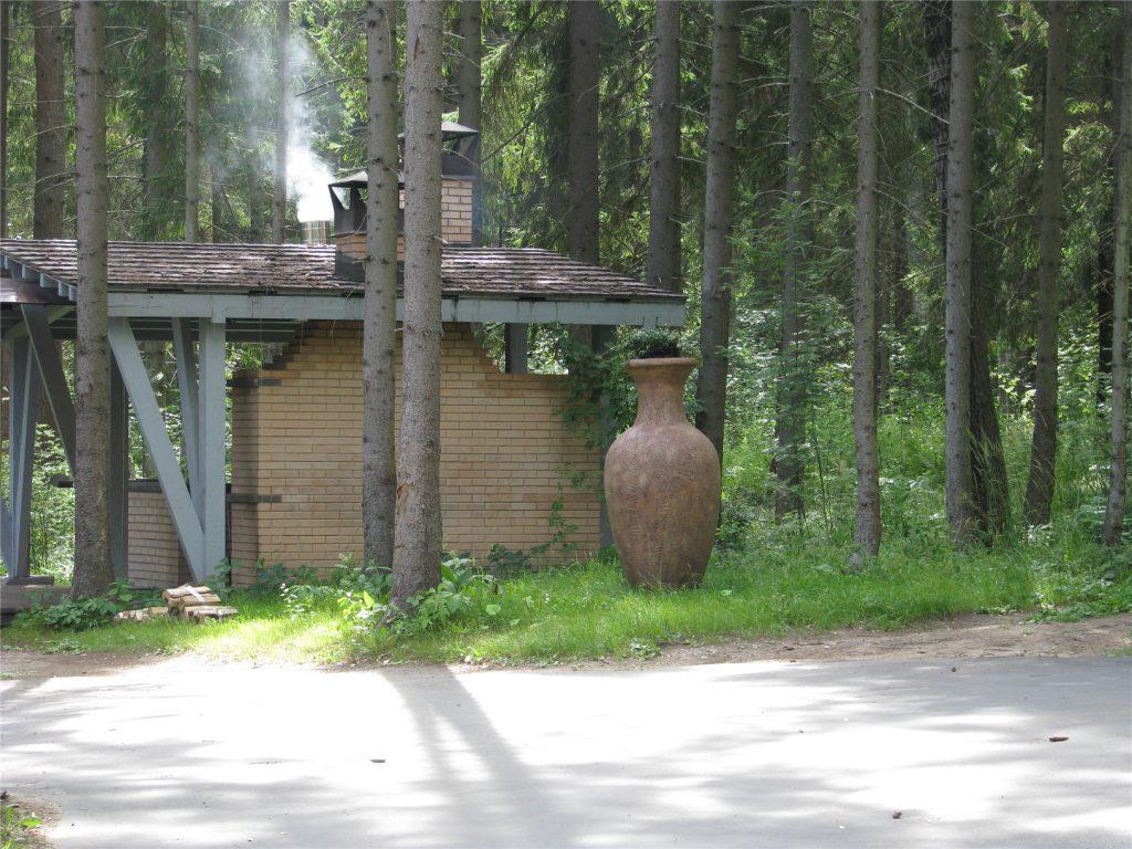 Большая ваза в Романовом Лесу