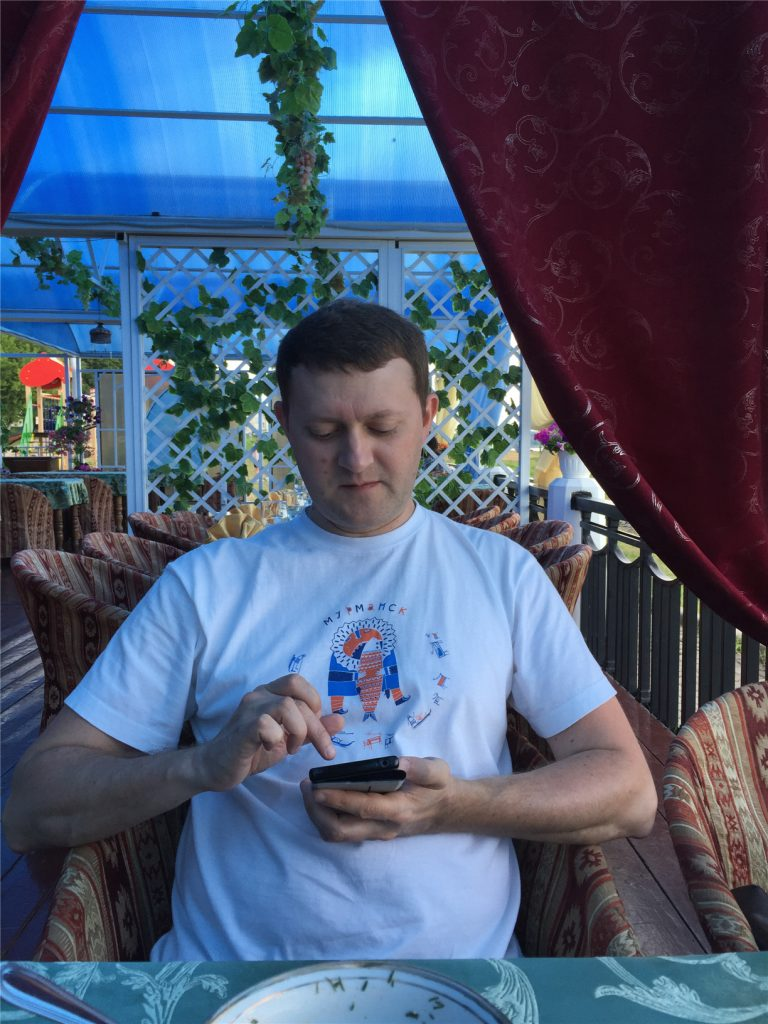 Андрей в ресторане Белое Солнце в Костроме