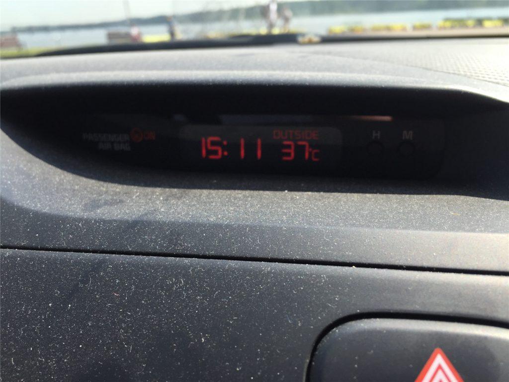 Костромская жара