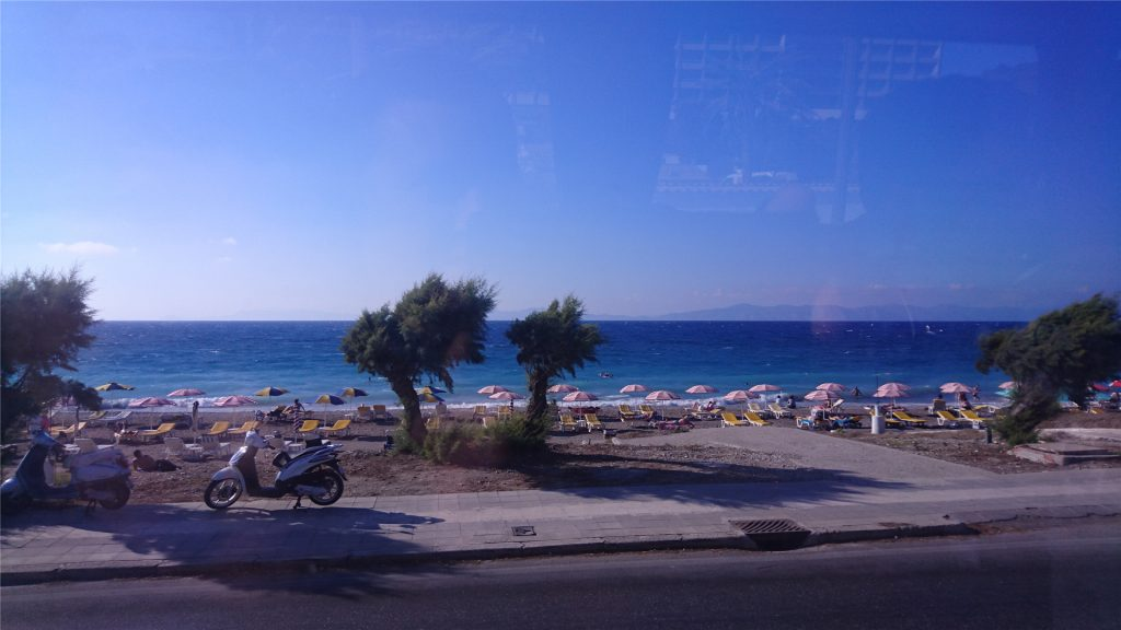 Эгейское море. Курорт Иксия. Остров Родос. Греция.