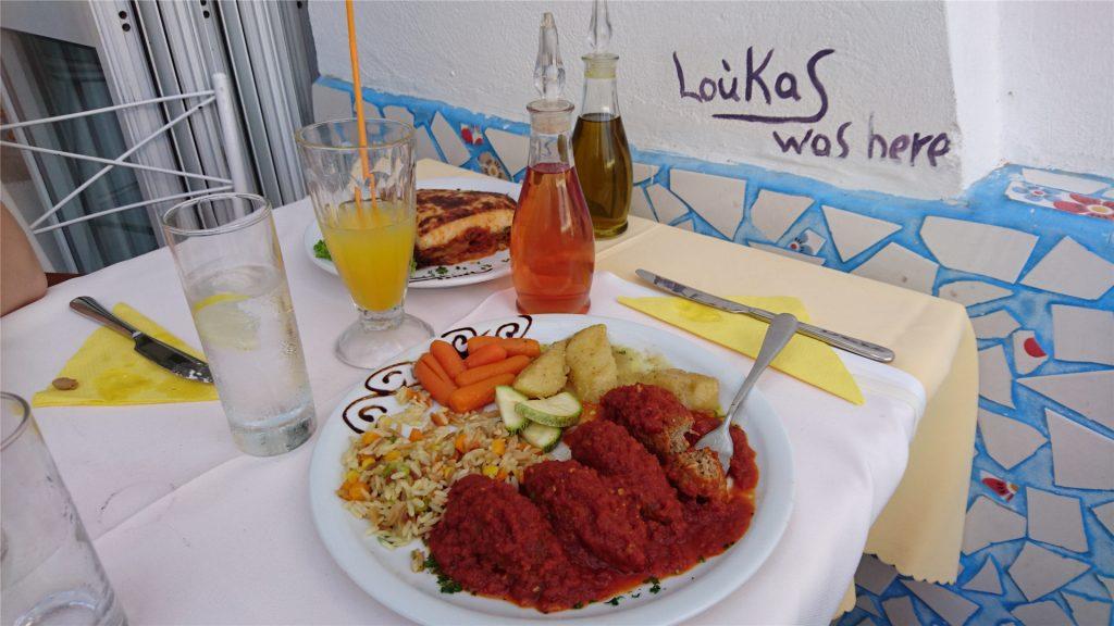 Судзикакия. Блюдо греческой кухни.