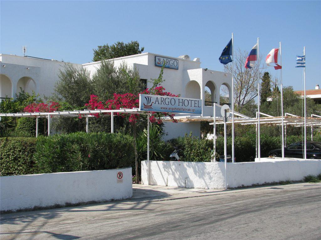 Отель Арго. Родос. Греция.