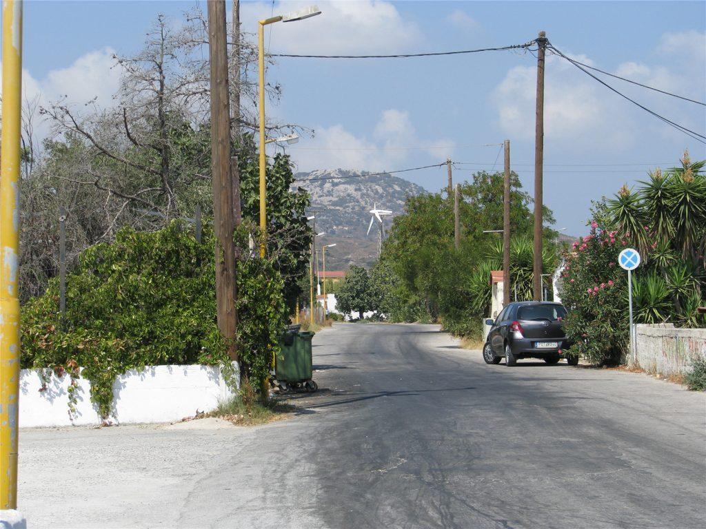 Улицы Фалираки. Родос.