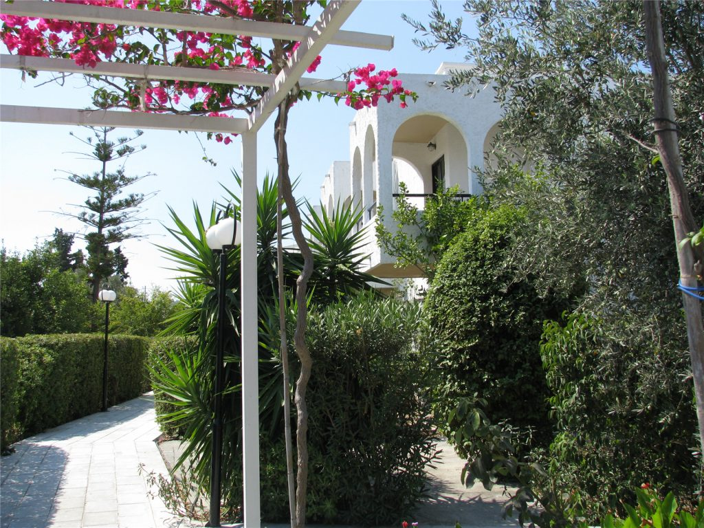 Hotel Argo. Родос. Греция.