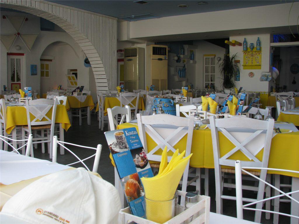 Kostos Village Greek Taverna. Фалираки. Родос.