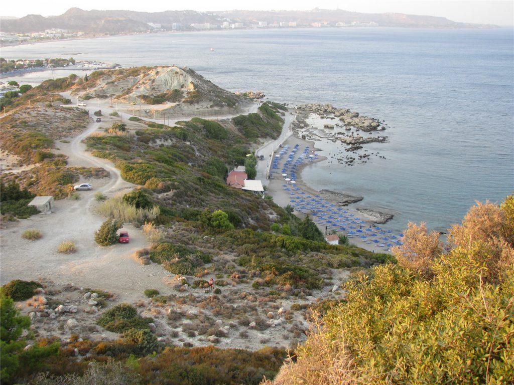 Фалираки. Нудистский пляж.