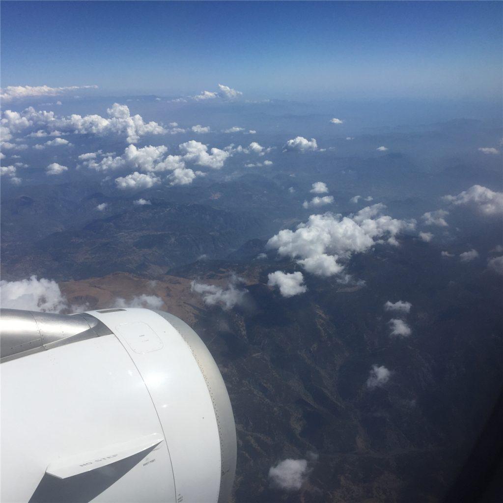 Летим на Родос. Авиакомпания Aegean Airlines.