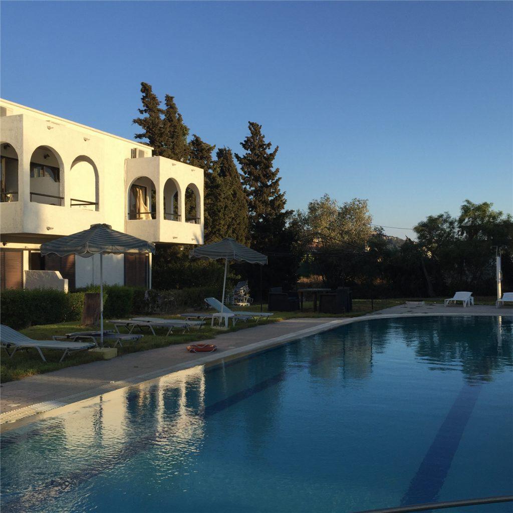 Argo Hotel (Отель Арго). Фалираки. Родос. Греция.