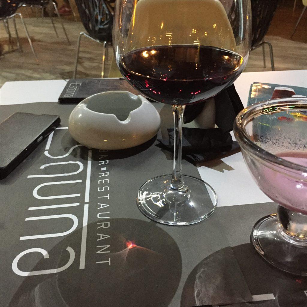 Ужин в ресторане La Esquina в Фалираки