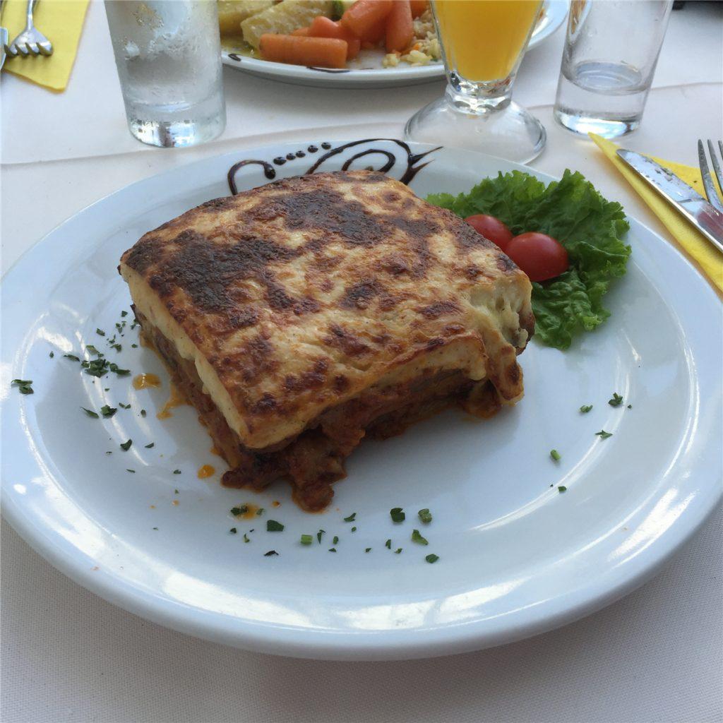 Мусака. Блюдо греческой кухни.