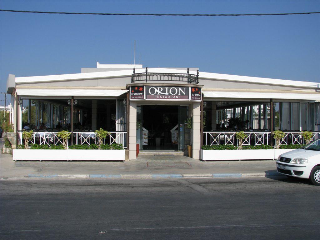 Ресторан Орион. Фалираки. Родос.
