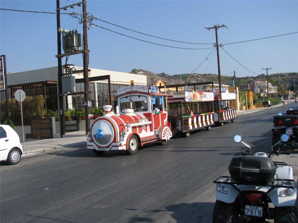 Экскурсионный паравоз Фалираки