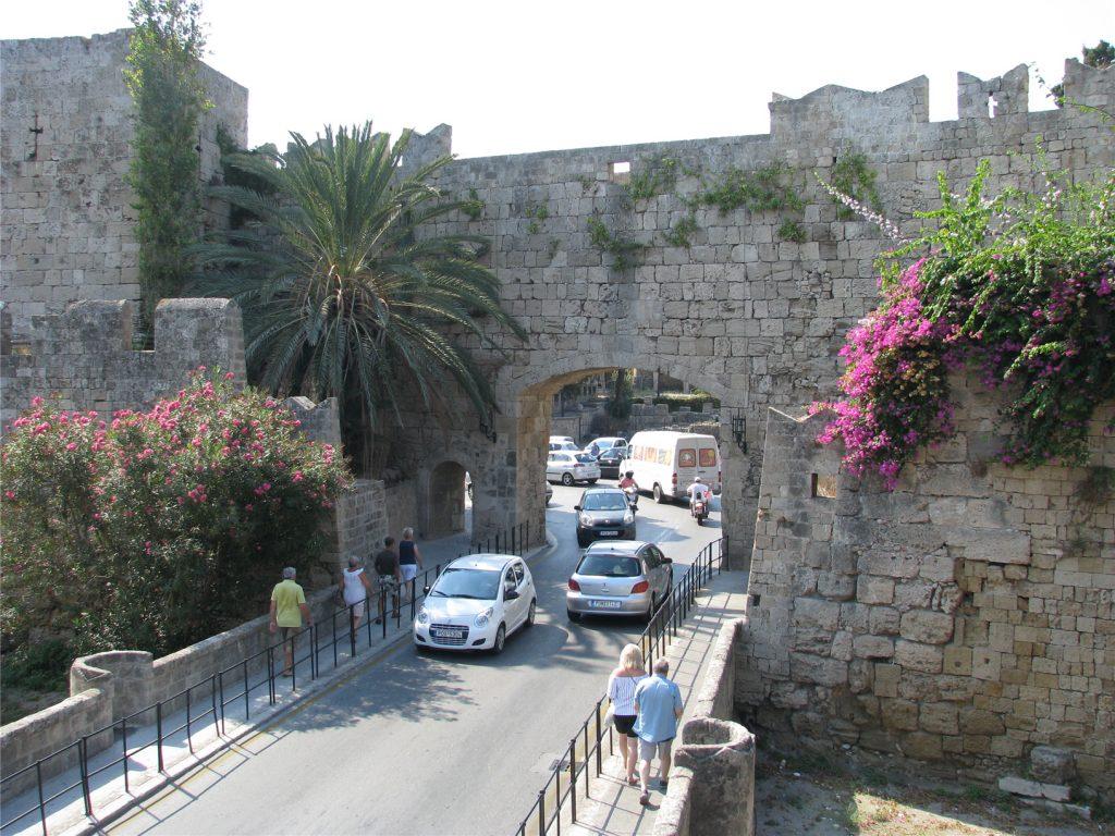 Ворота в Старый Город Родоса