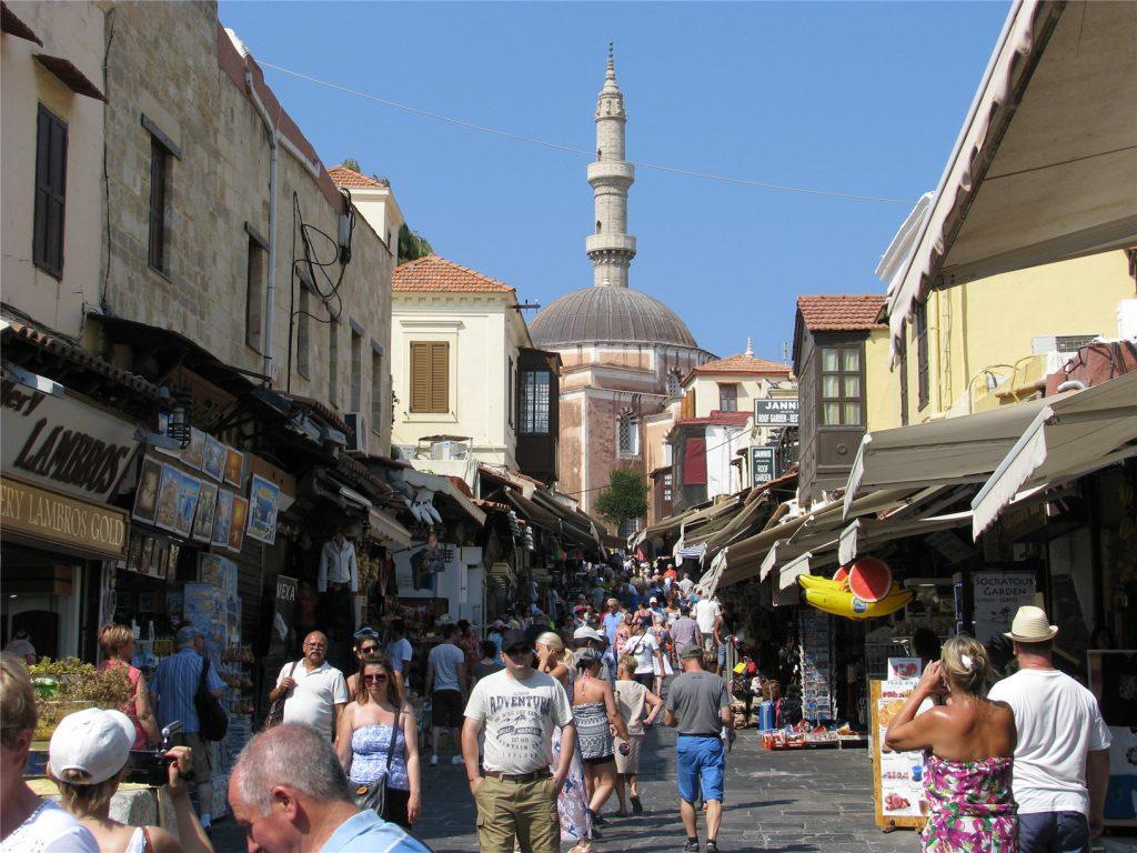 Родос. Старый город. Мечеть Сулеймана.