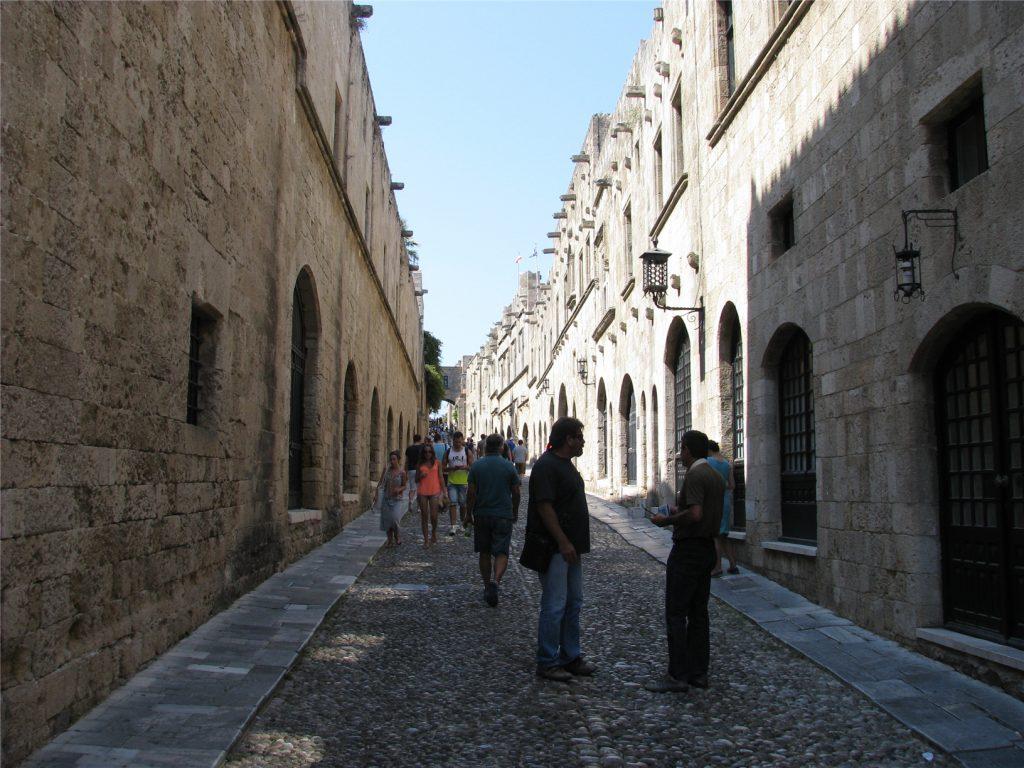 Улица рыцарей. Старый Город. Родос.