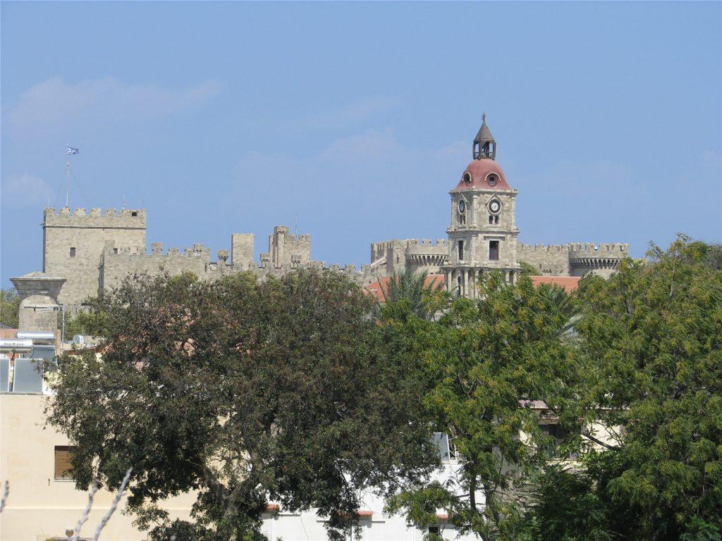 Часовая башня Roloi. Старый Город. Родос.