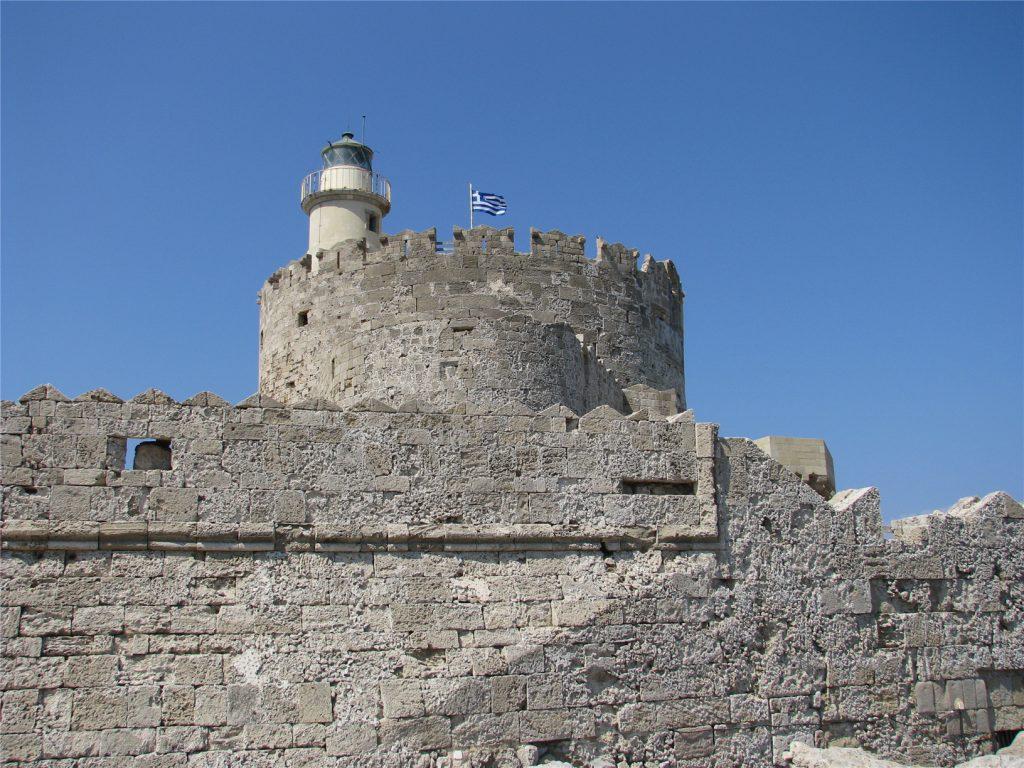 Форт святого Николая в Родосе. XV век.