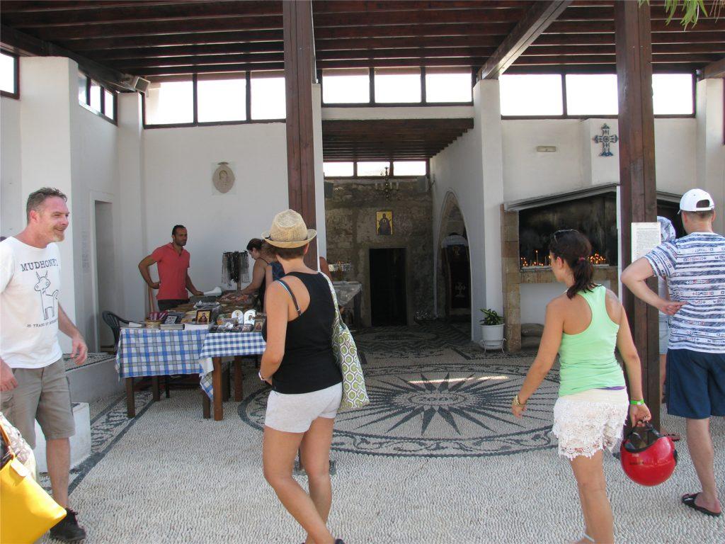 Верхний монастырь Мони Цамбика. Родос. Греция.