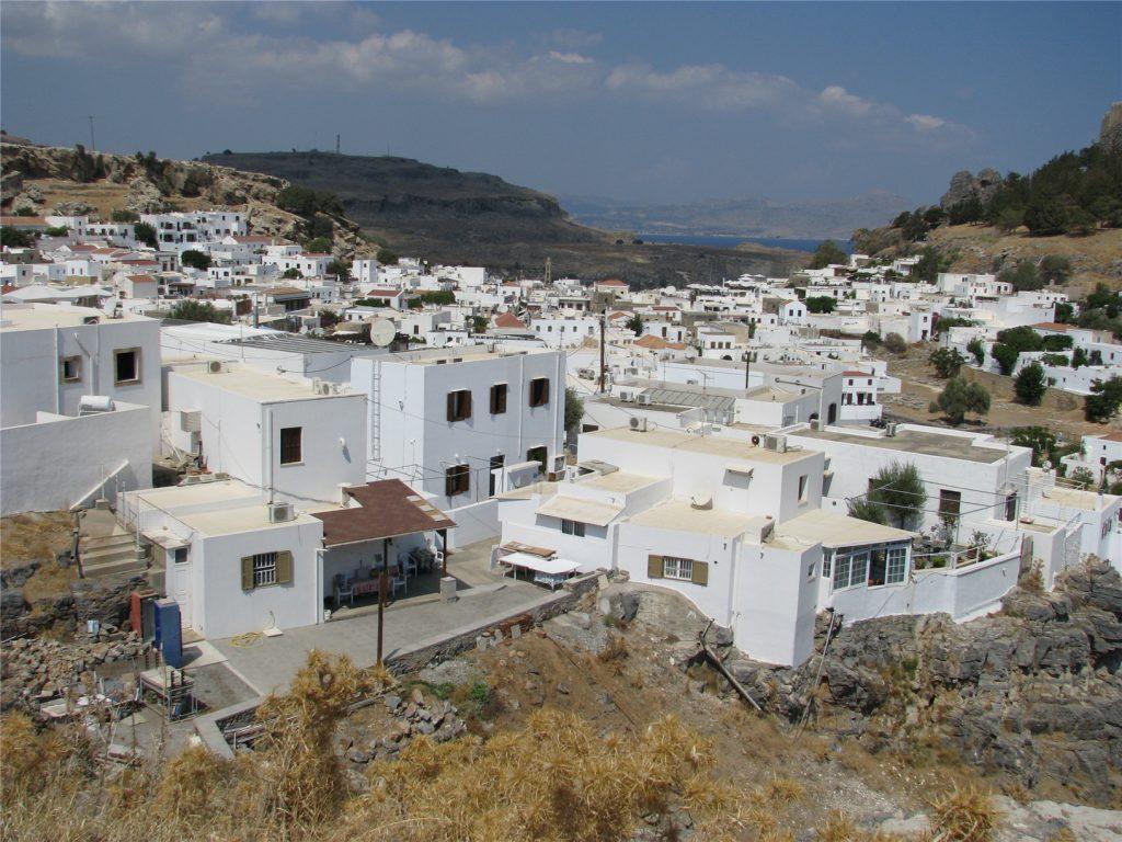 Древнегреческий город Линдос. Остров Родос.