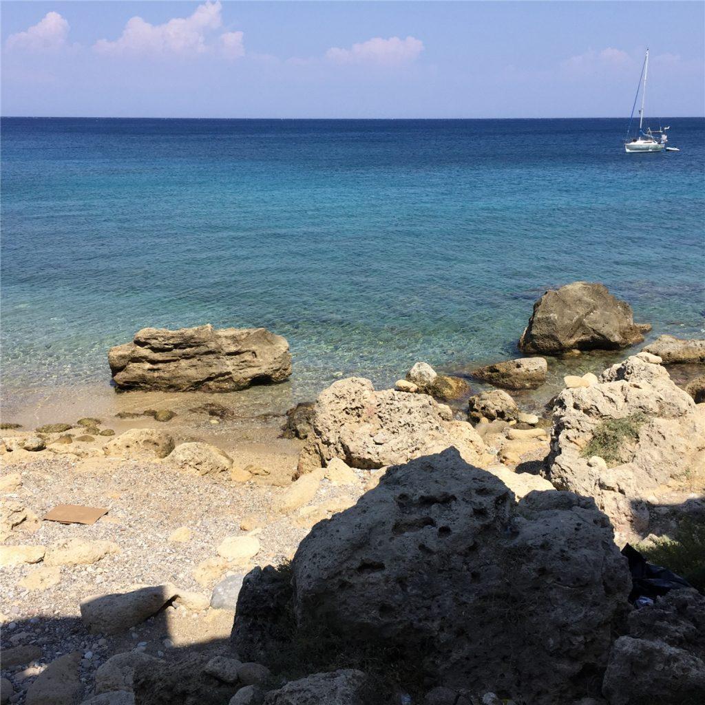 Средиземное море. Родос.