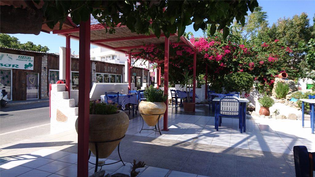 Ресторан Greek Spirit. Фалираки. Родос.
