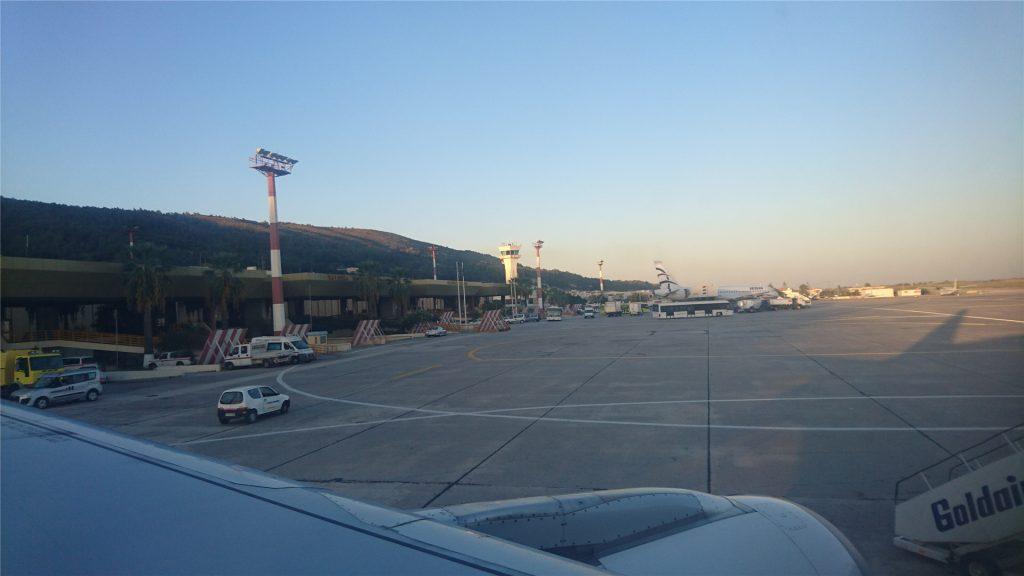 Аэропорт Диагорас. Летим домой.