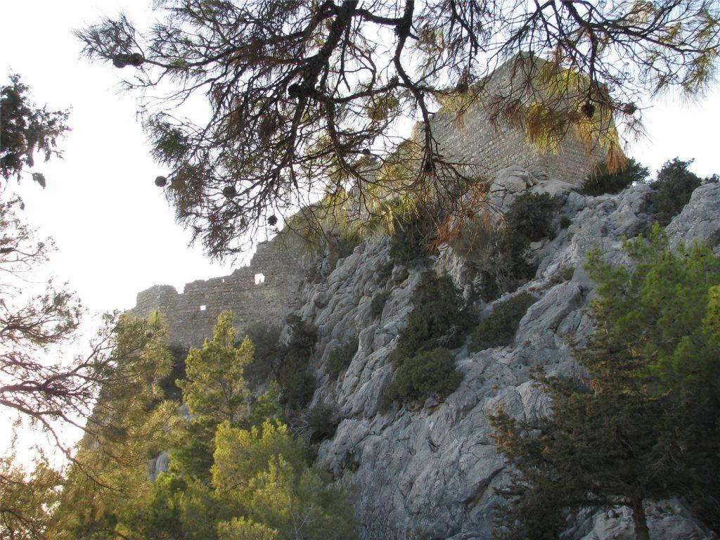 Крепость Монолитос. Родос. Греция.