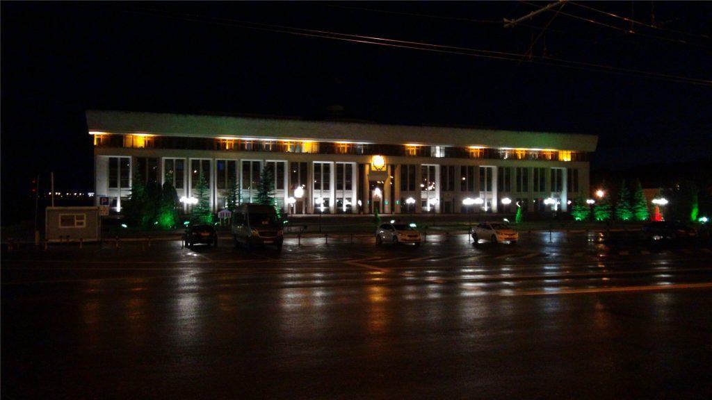 Площадь Старый Торг. Администрация Калужской области.