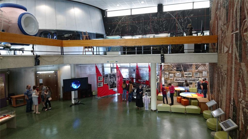 Музей космонавтики. Первый этаж.