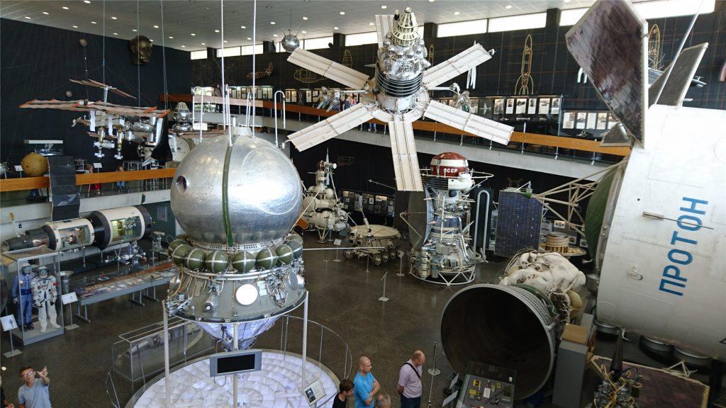 Советские космические аппараты в музее космонавтики
