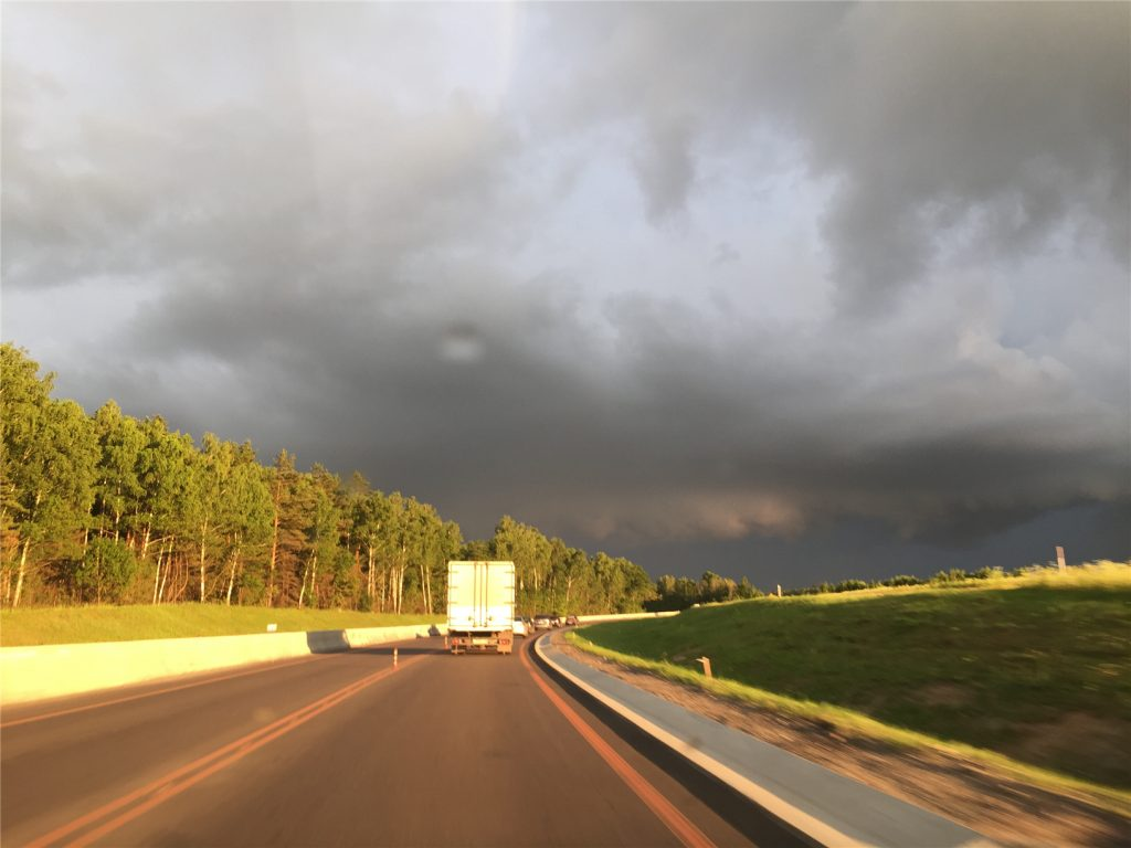 Дорога в Калугу