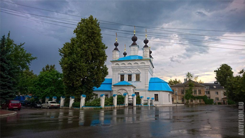 """Церковь Покрова """"что на рву"""". Калуга."""