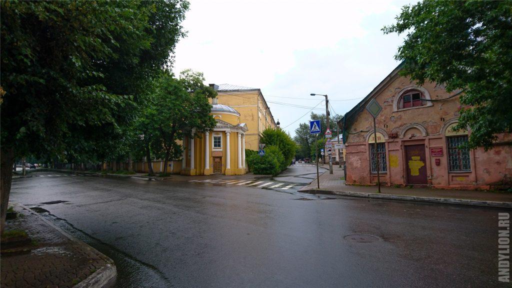 Калуга. Городские переулки.