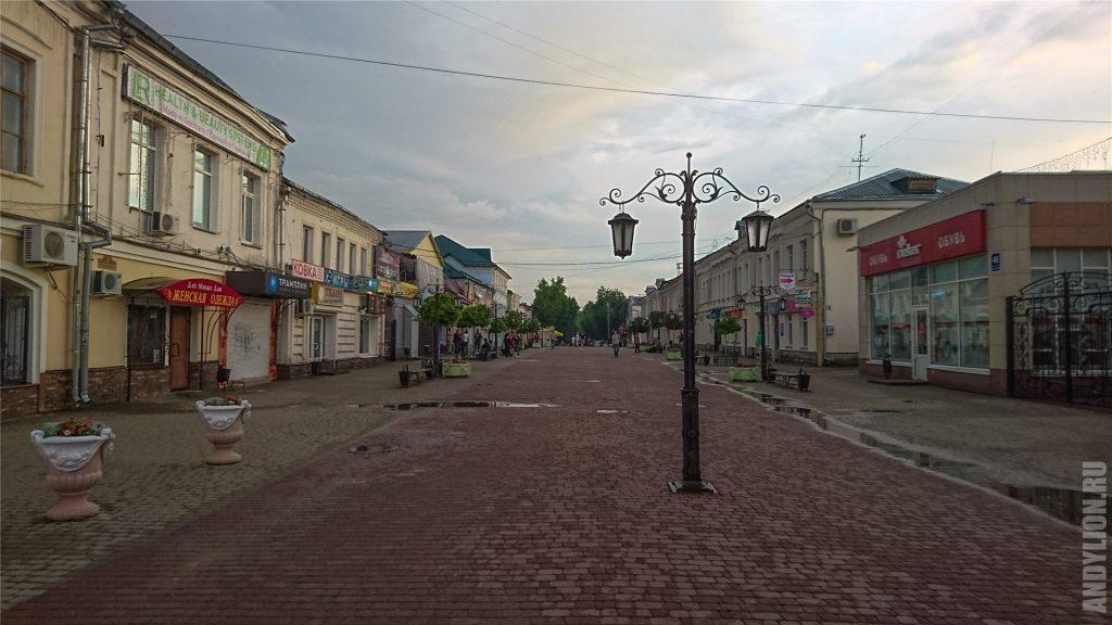 Улица Театральная. Калужский Арбат.