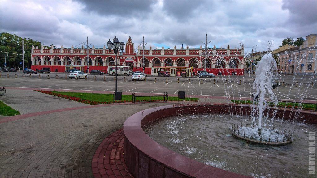 Площадь Старый Торг в Калуге